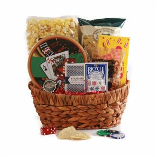 Aces High Gift Basket