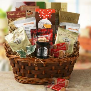 Gourmet Comforts Gift Basket