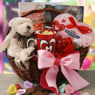 Love You Beary Much Gift Basket