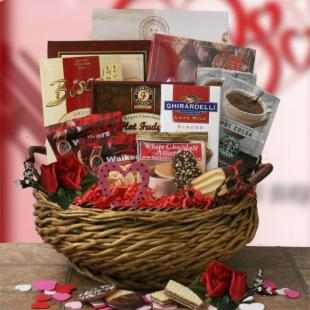 Shakespeares Delight Valentines Day Gift Basket