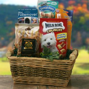 Dog Gone Good Gift Basket