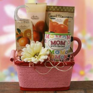 Mothers Day Spa Gift Basket