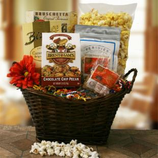 Snacks for Mom Gift Basket