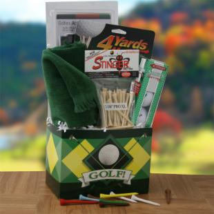 Fore Fathers Day Gift Basket