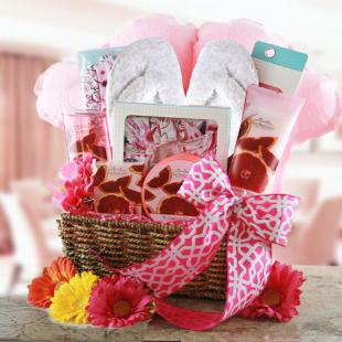 Pink Passion Gift Basket