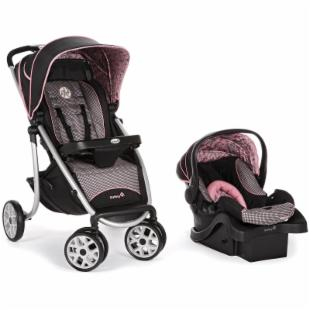 Safety 1st AeroLite Sport Travel System - Eiffel Rose