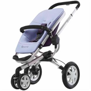 Quinny Buzz 3 Stroller with Dreami Bassinet - XL Seat &amp; Footmuff - Greystone