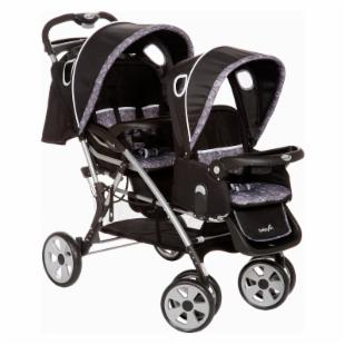 Safety 1st Two Ways Tandem Stroller - Orion Black