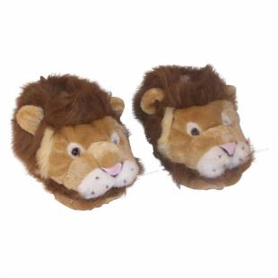 Comfy Feet Lion Animal Feet Slippers