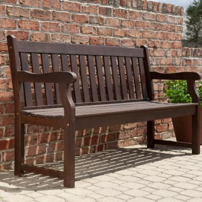 5-ft. Ellsworth Garden Bench - Cocoa
