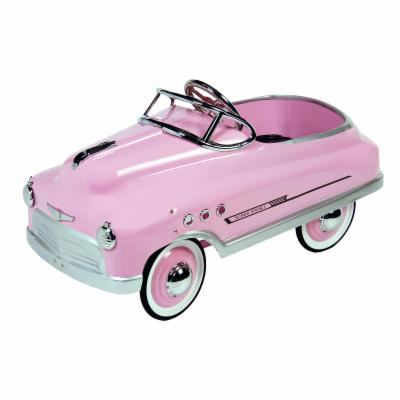 Dexton Pink Comet Sedan Pedal Car Riding Toy