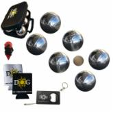  The Day of Games 73mm Chromed Steel Bocce Ball Set - Petanque