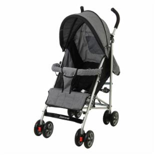 Dream On Me Vogue Stroller - Gray/Black