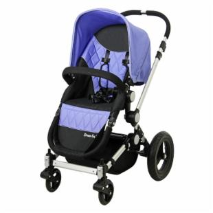 Dream On Me Acrobat Multi Terrain Stroller and Bassinet - Purple