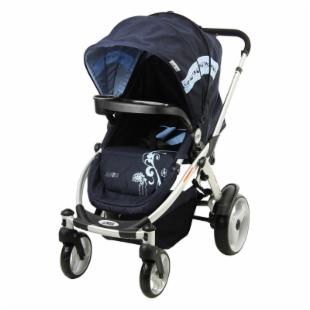 Mia Moda Atmosferra Stroller - Navy