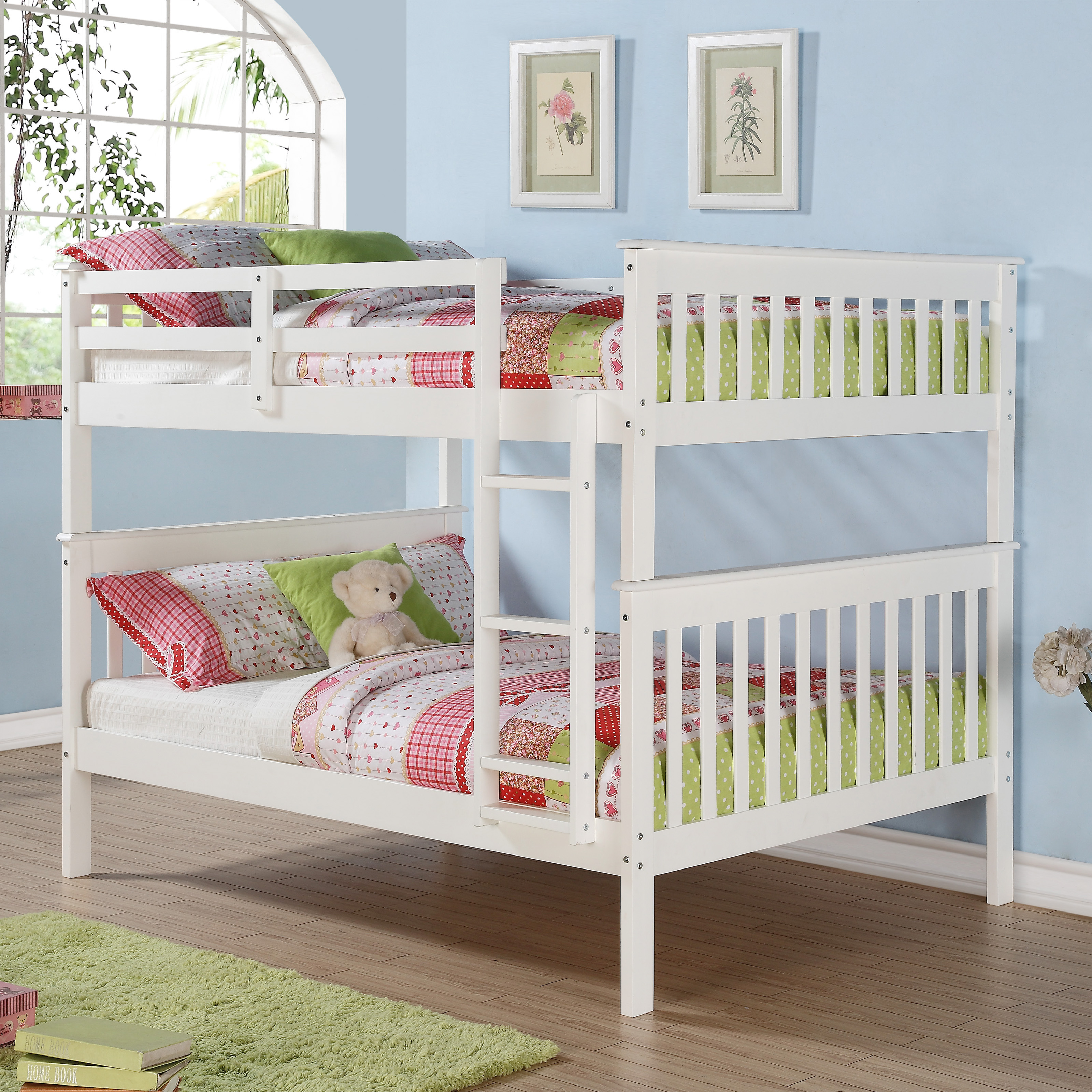 Donco Kids Full Over Full Mission Bunk Bed - Bunk Beds ...