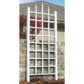  Dura-Trel Camelot 5-ft. Vinyl Wall Trellis - White