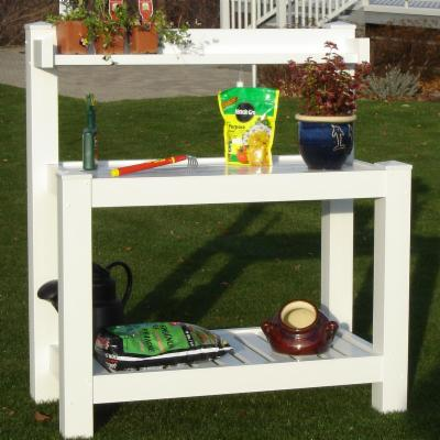 Dura-Trel Vinyl Hillcrest Potting Bench