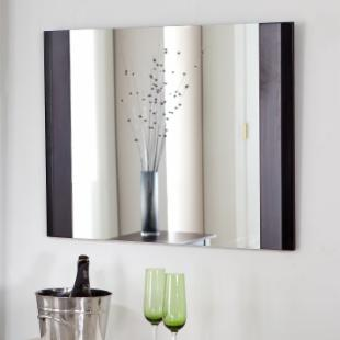 Frameless Chase Wall Mirror - 31.5W x 23.5H in.