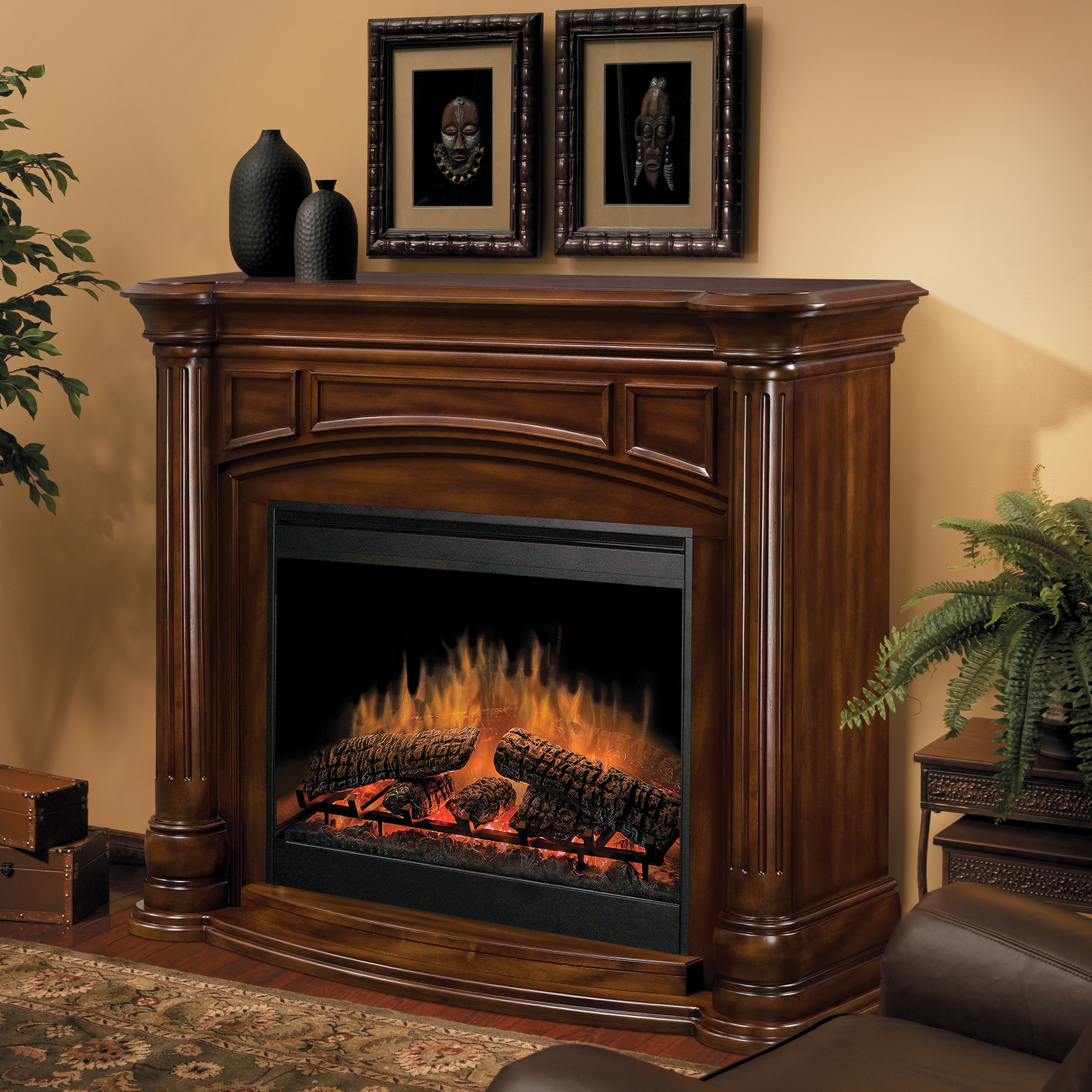 Dimplex Belvedere Electric Fireplace Fireplaces At Hayneedle