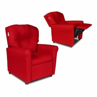 Contemporary Red Rocket Child Recliner