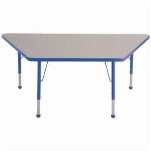 ECR4KIDS Trapezoid Adjustable Activity Table