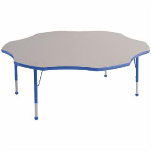 ECR4KIDS Flower Adjustable Activity Table