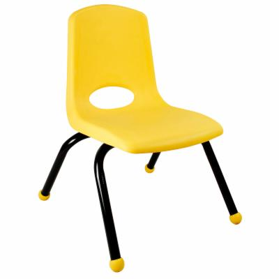  Early Childhood Resources 16 Inch Stackable Chair with Black Painted Legs