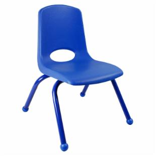 ECR4KIDS 16 Inch Stackable Chair with Matching Painted Legs