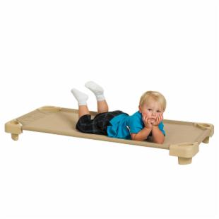 ECR4KIDS RTA Colored Cot - Desert Sand