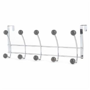 Five Hook Over the Door Rack - Line Wire