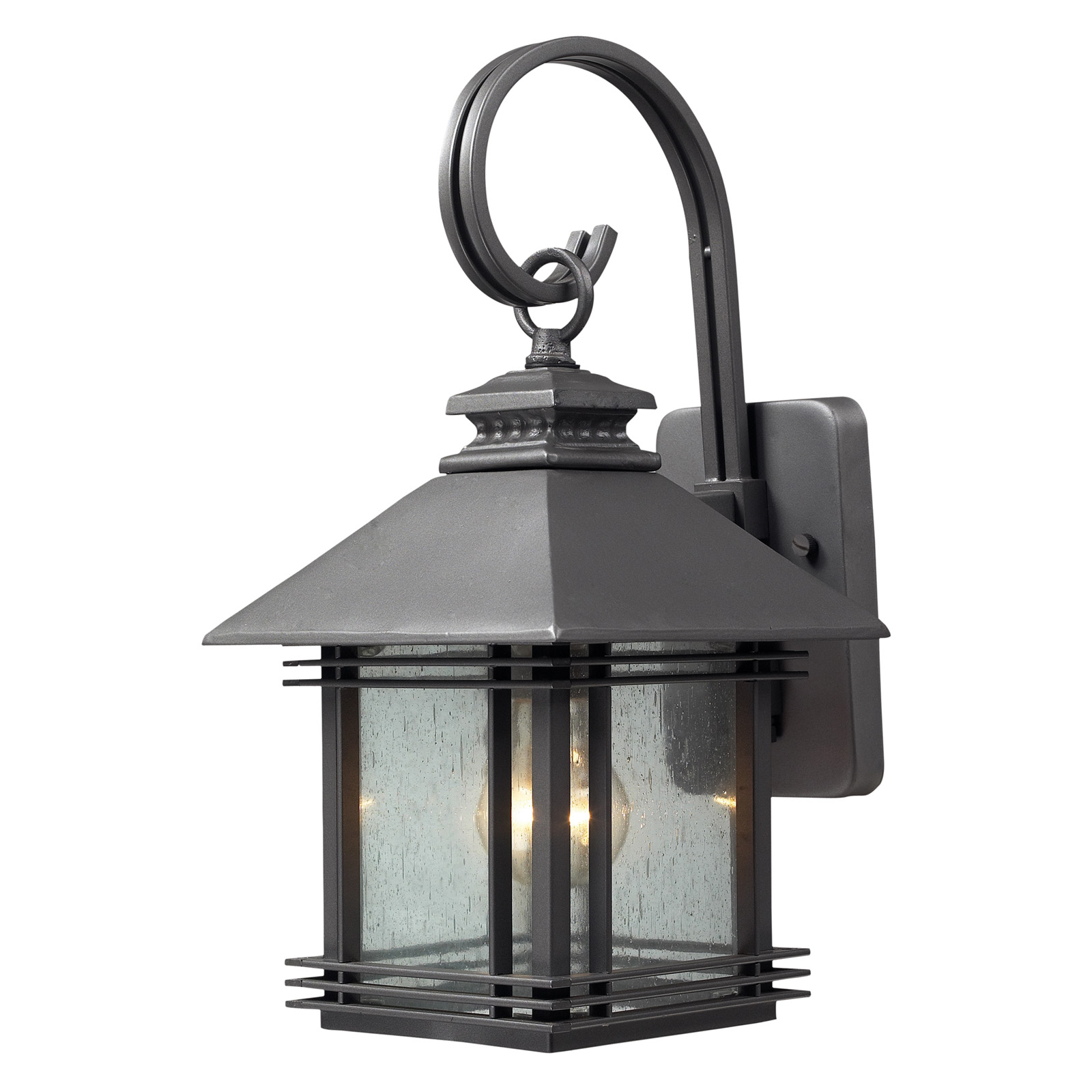 elk lighting blackwell 4230 outdoor sconce graphite outdoor wall