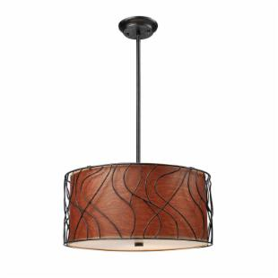 ELK Lighting Wireform 3-Light Pendant 20171/4 - 16W in.