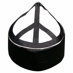 Large Peace Bean Bag Chair