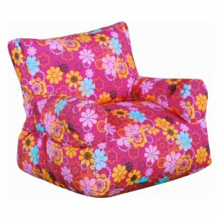 Fun Factory Junior Arm Chair - Pink Flower