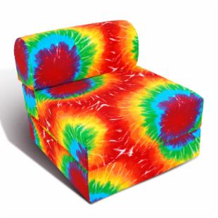Junior FX Studio 24 in. Sleeper Chair - Summer Tye Dye