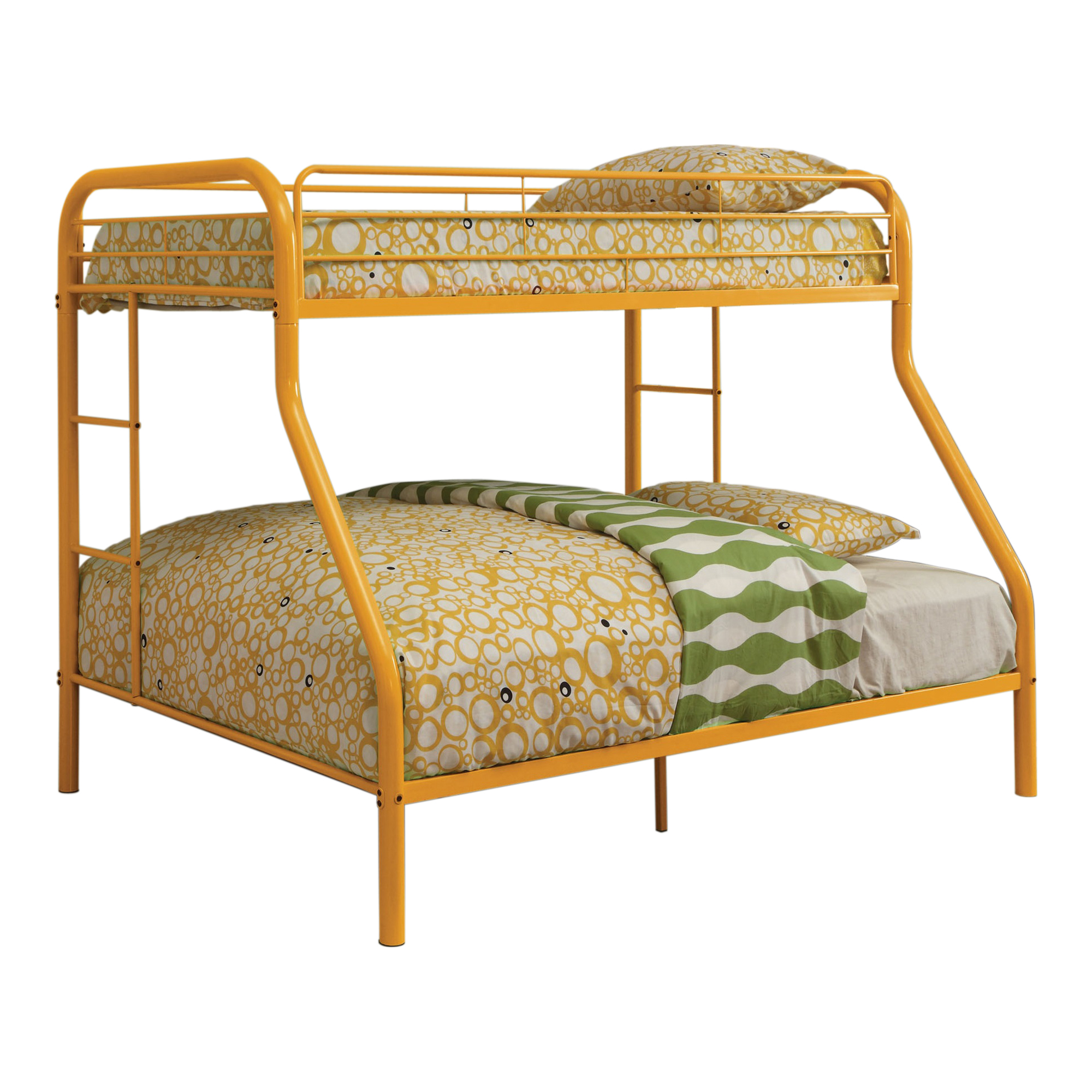 bunk bed with dual sided ladder bunk beds loft beds at hayneedle