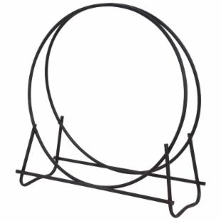 Uniflame Outdoor Log Hoop Wood Rack