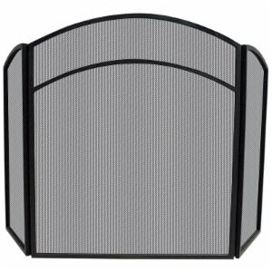Uniflame 3 Panel Arch Top Fireplace Screen