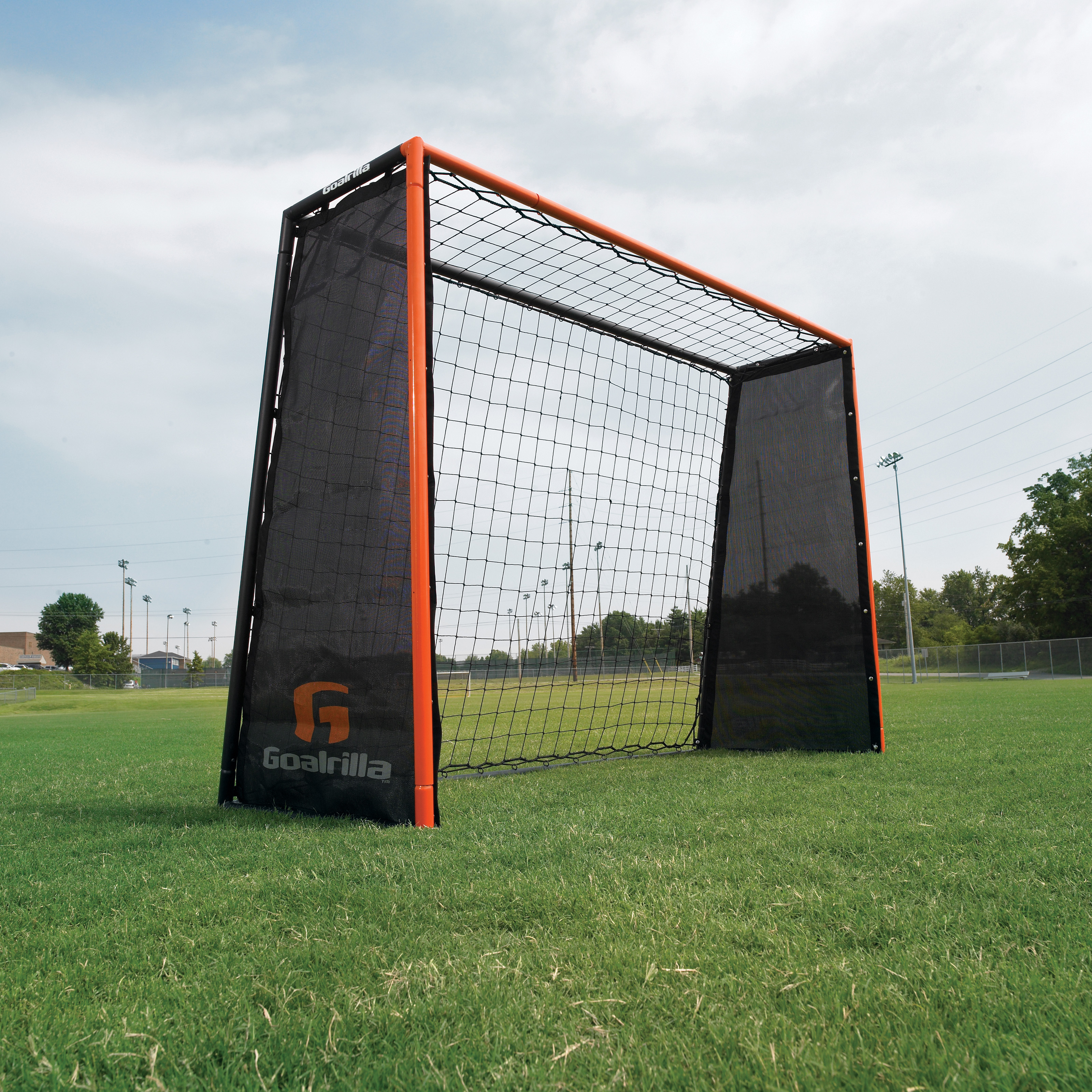 Soccer Backyard Nets : Backyard Soccer Goal Net And Rebounder Image 8 Pictures to pin on