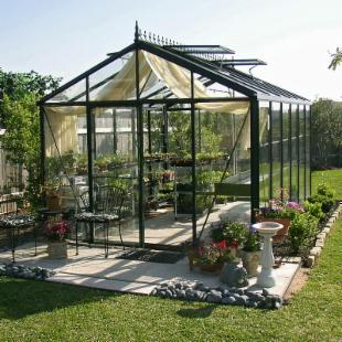 Janssens Royal Victorian 10.1 x 15-Foot Greenhouse Kit