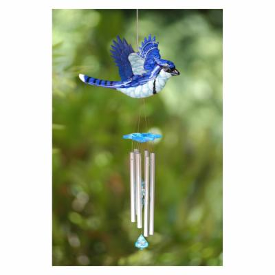 Exhart WindyWings Blue Jay Wind Chime