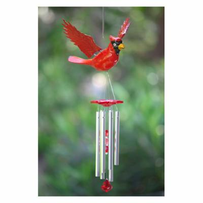 Exhart 40208 Large WindyWings Cardinal Wind Chime