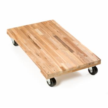 EZ Roll Moving Dolly-Wood Deck