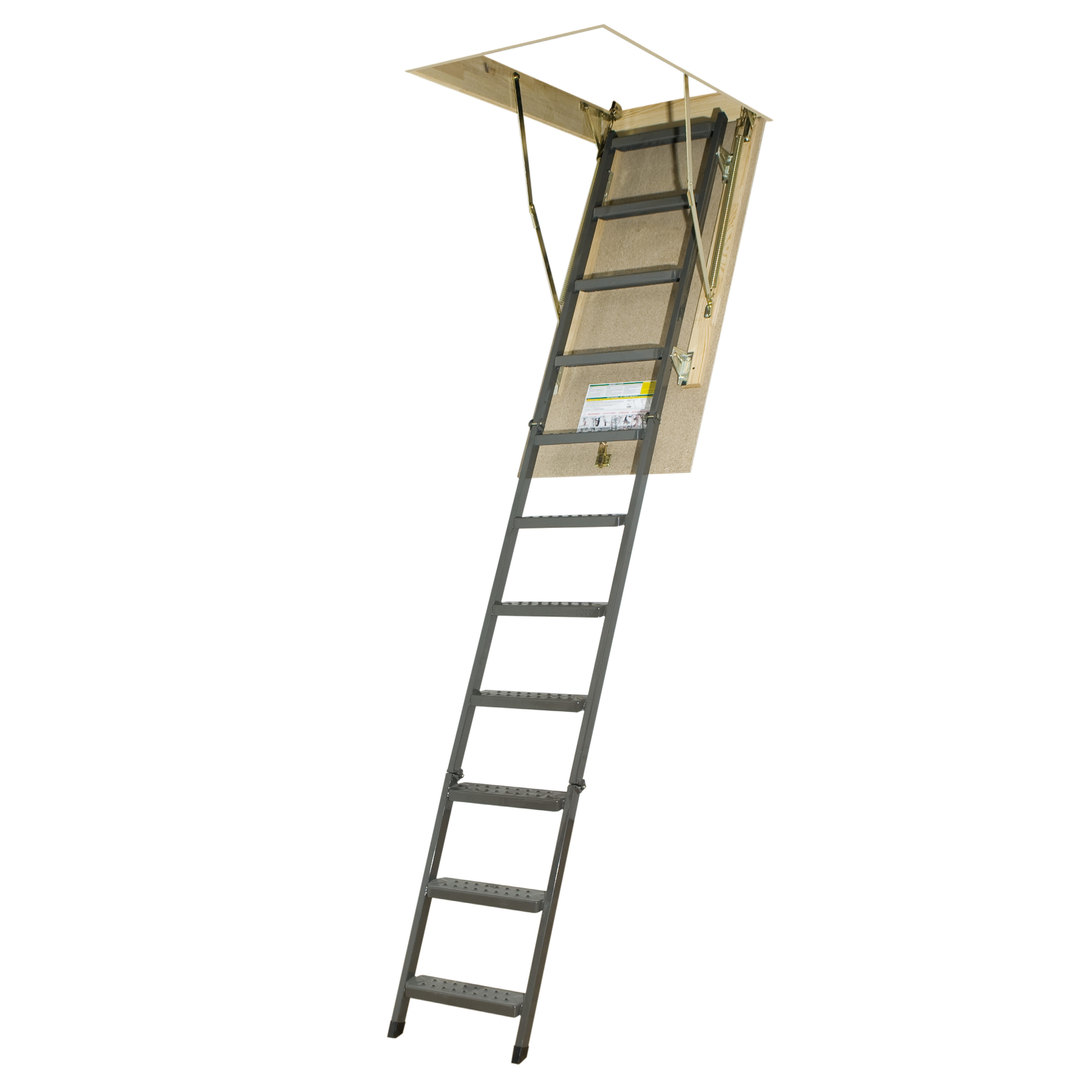 Fakro 10 1 Ft Steel Attic Ladder Ladders And