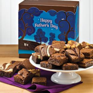 Fairytale Brownies Fathers Day Morsel 24 Brownie Gift Box