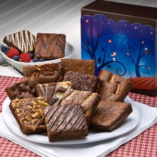 Fairytale Brownies Patriotic Dozen Gift Box