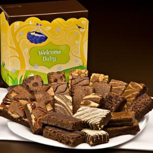 Fairytale Brownies Welcome Baby Sprite 24 Brownie Gift Box