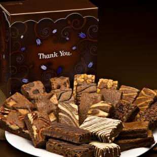 Fairytale Brownies Thank You Sprite 24 Brownie Gift Box