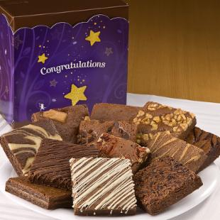 Fairytale Brownies Congratulations Dozen Gift Box